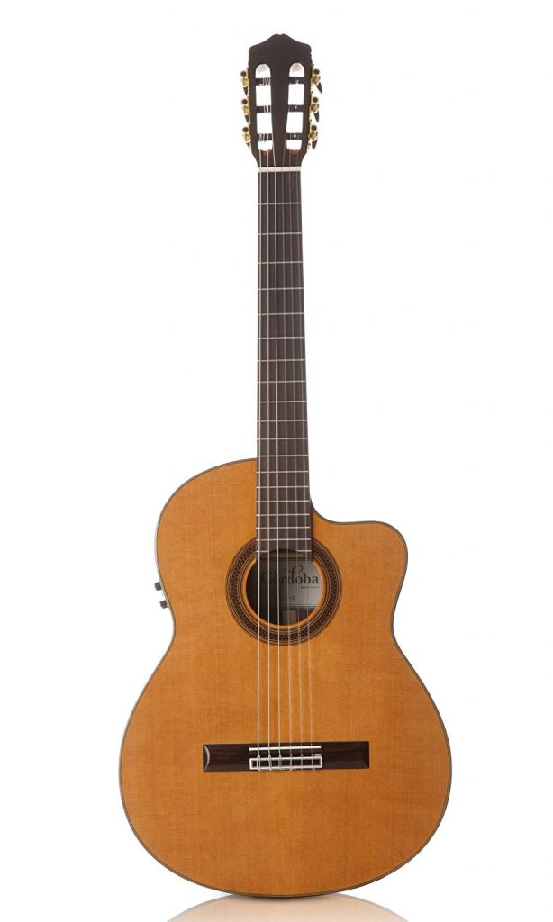 Cordoba C7-CE CD/IN Acoustic Electric Nylon String Classical Guitar